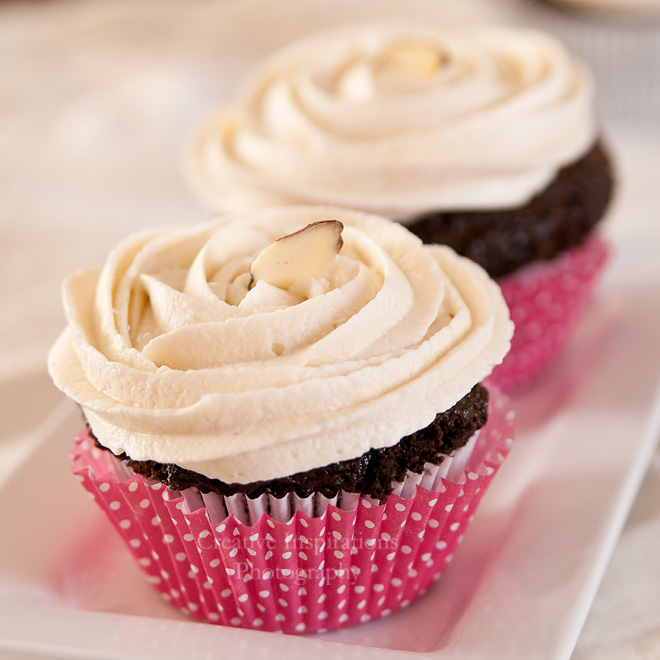 ... on the list is a gluten free chocolate cupcake with almond frosting